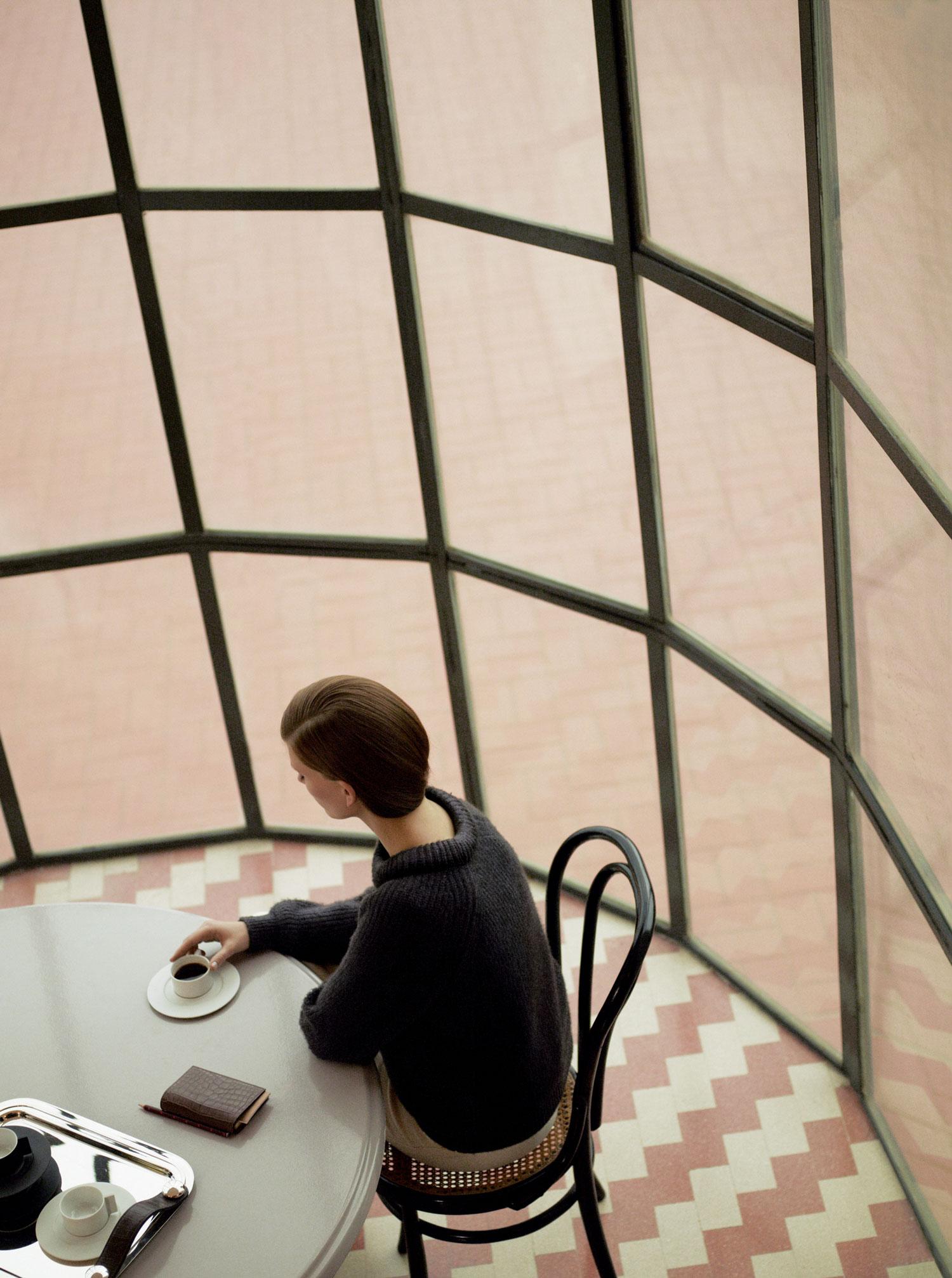 Hermes Winter 2012 Catalogue Valerija Kevala by Zoe Ghertner | Yellowtrace