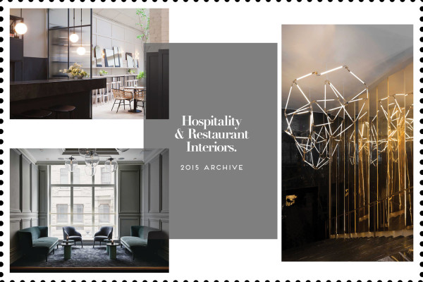 Hospitality & Restaurant Interiors, 2015 Archive | Yellowtrace