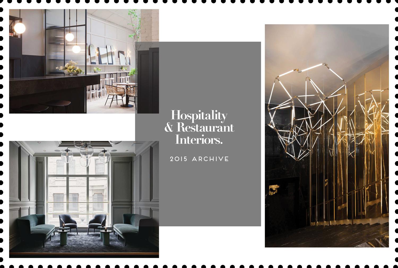 hospitality restaurant interiors 2015 archive yellowtrace
