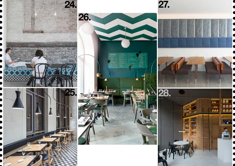 Hospitality Restaurant Interiors 2015 Archive