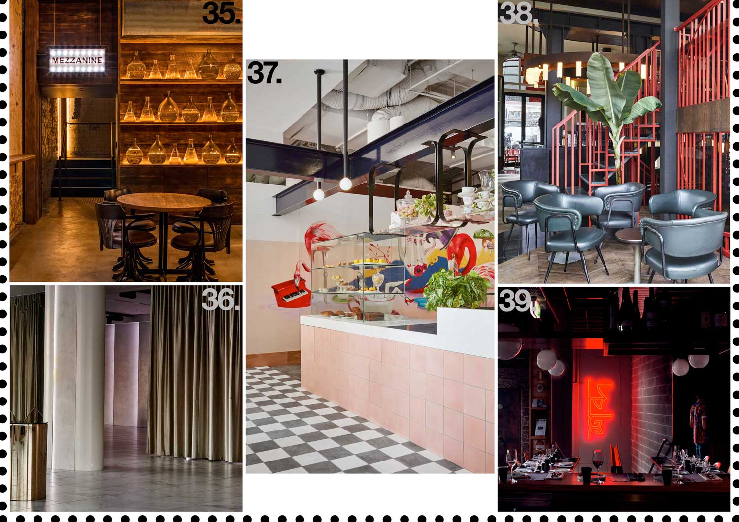 hospitality restaurant interiors 2015 archive yellowtrace - Yellow Restaurant 2015