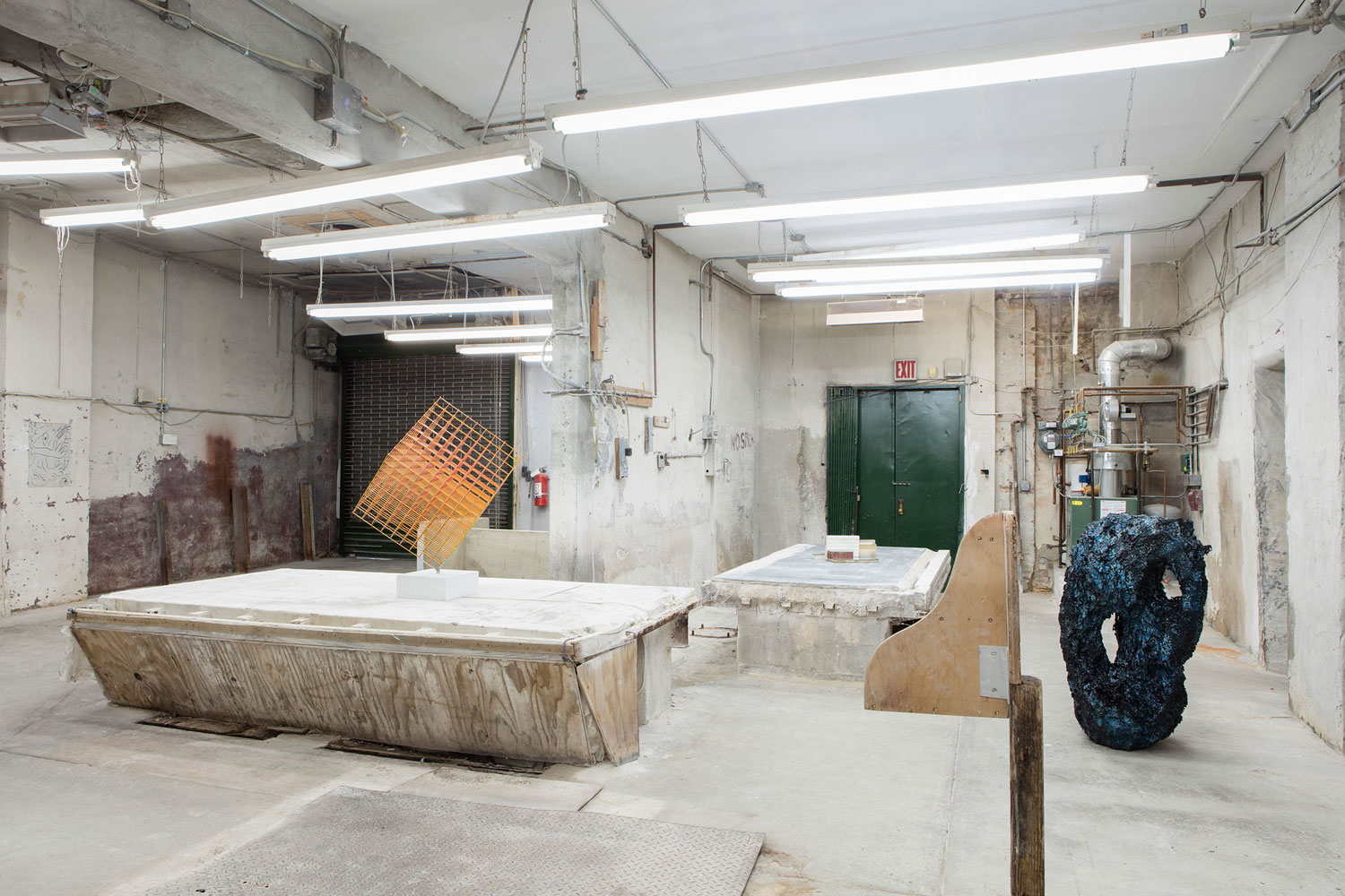 Latin American & Spanish Art takes over Abandoned Marble Factory in Brooklyn | Yellowtrace