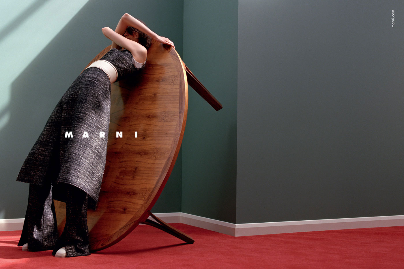 Marni AW 2015-16 Campaign. Photo by Jackie Nickerson | Yellowtrace