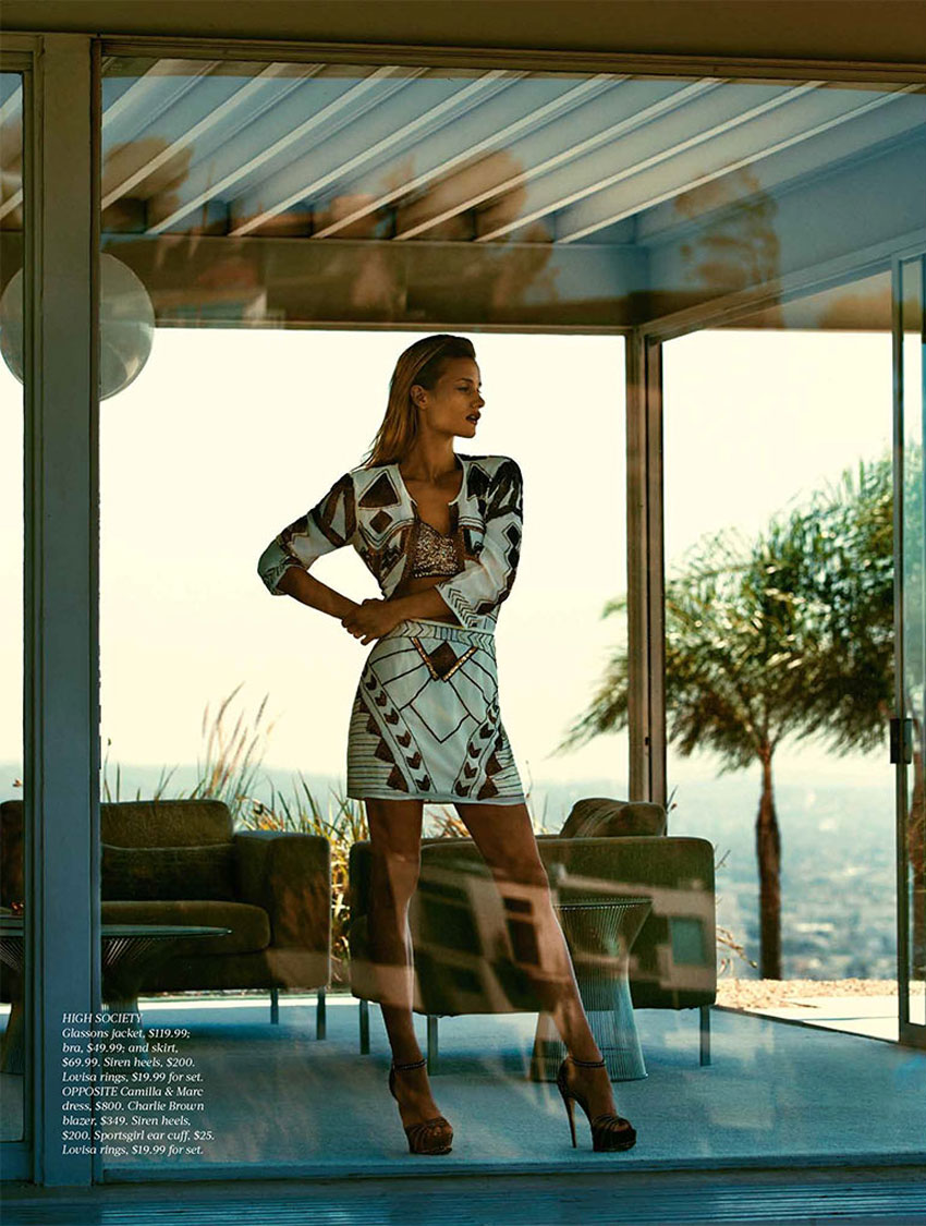 Natalia O'Nous Poses for Steven Chee in Fashion Quarterly NZ | Yellowtrace