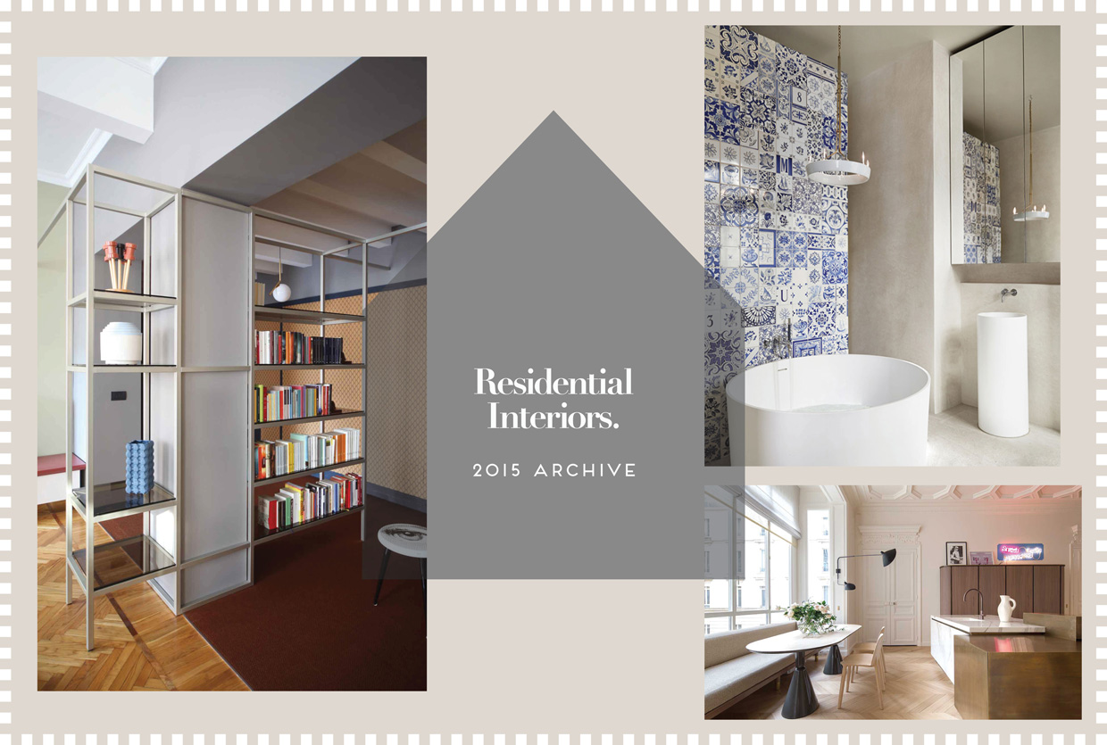 Residential Interior Design 2015 Archive | Yellowtrace