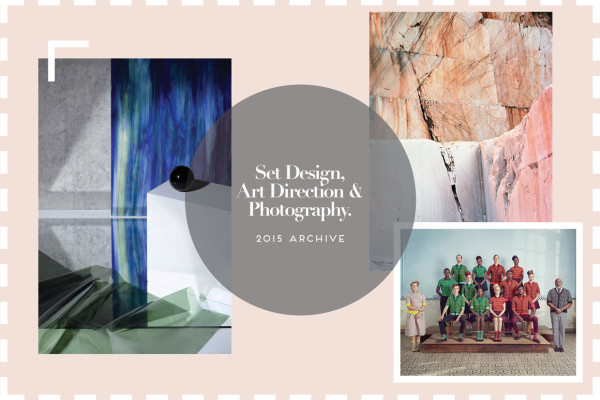 Set Design, Art Direction, Fashion & Photography 2015 Archive | Yellowtrace