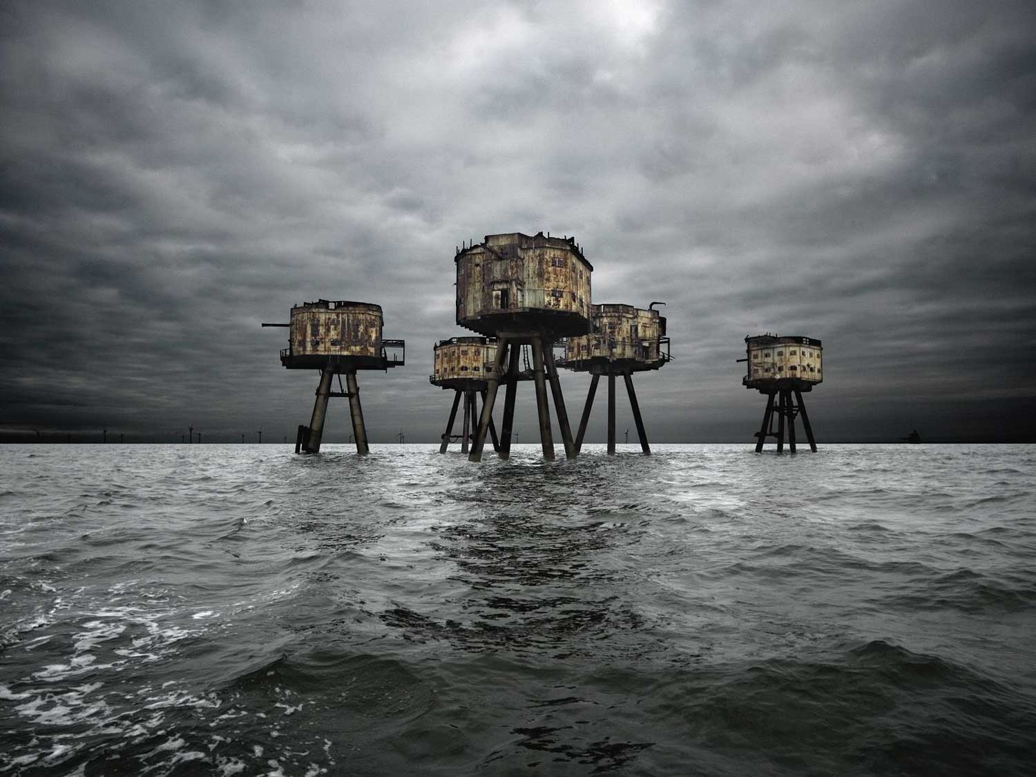 The Maunsell Sea Fort | Yellowtrace