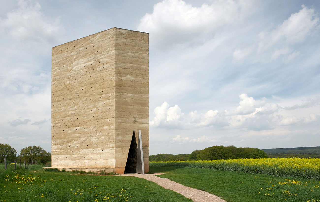 Bruder Klaus Field Chapel in Mechernich, Germany by Peter Zumthor | Yellowtrace