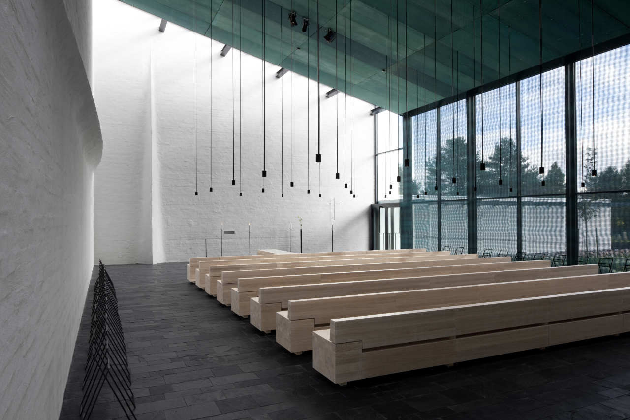 Chapel of St. Lawrence by Avanto Architects | Yellowtrace