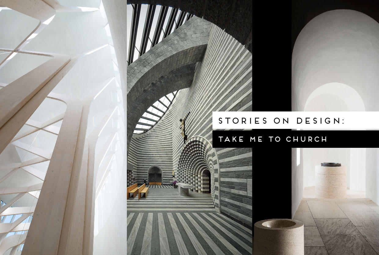 Take Me To Church: Religious Architecture Curated by Yellowtrace