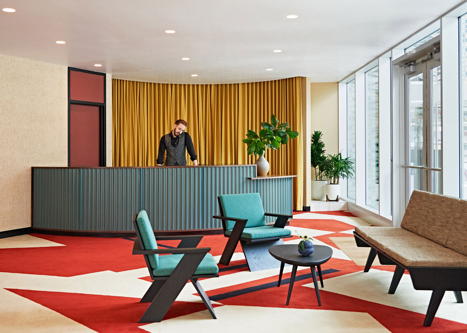 Commune Design Transforms A 1960s Bank Into The Durham