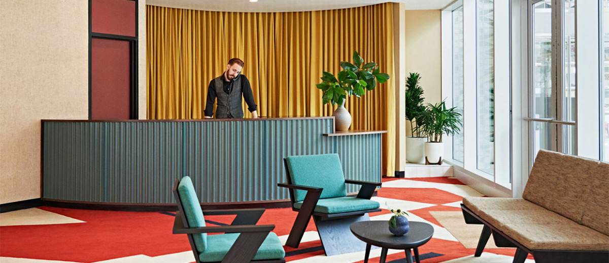 Commune Transforms a 1960s Bank into The Durham Hotel in North Carolina | Yellowtrace