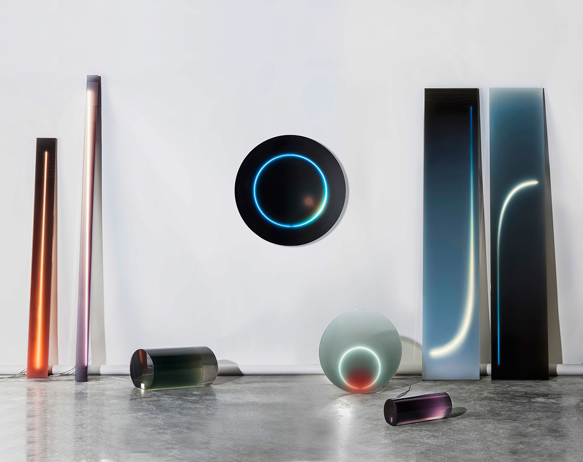 Resin & Neon Lights by Sabine Marcelis | Yellowtrace