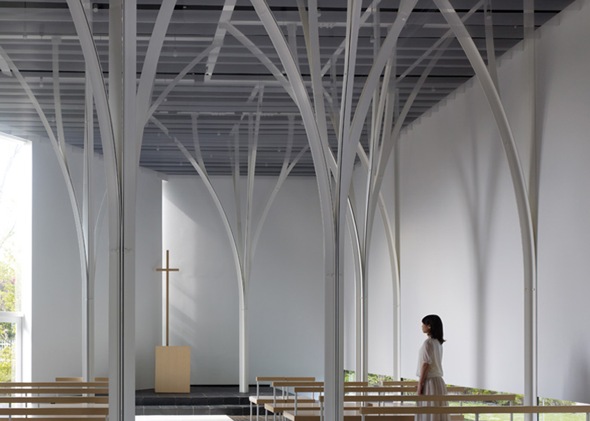 Forest Chapel by Hironaka Ogawa | Yellowtrace