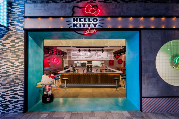 Hello Kitty Diner | Yellowtrace
