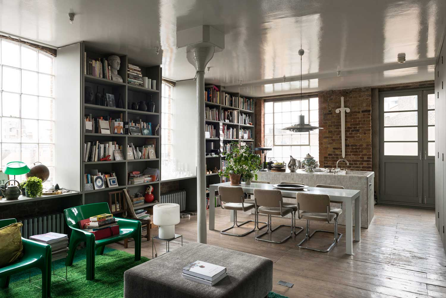 Ilse Crawford's Victorian Warehouse in London | Yellowtrace