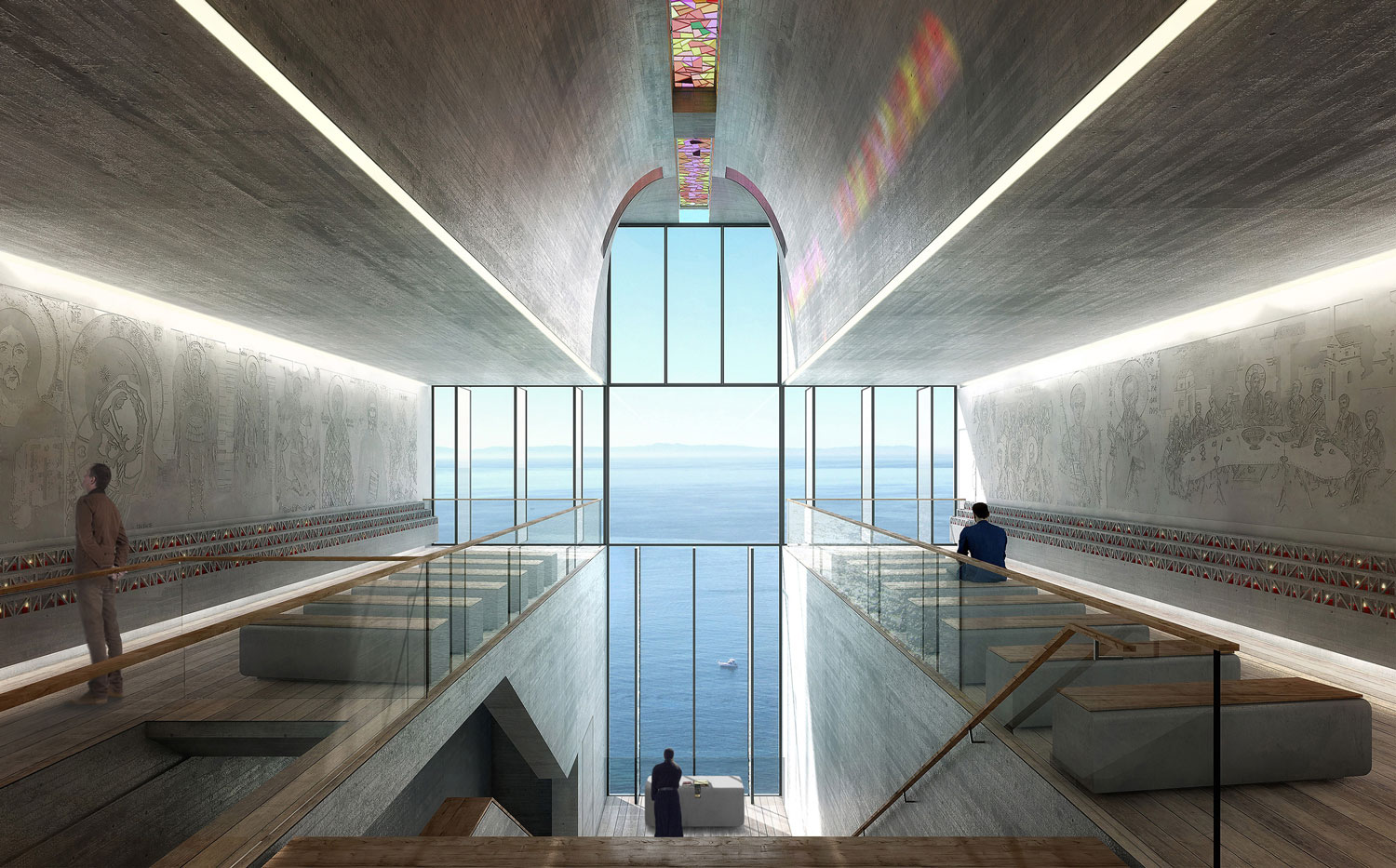 Lux Aeterna Holy Cross Chapel by OPA Open Platform Architecture | Yellowtrace