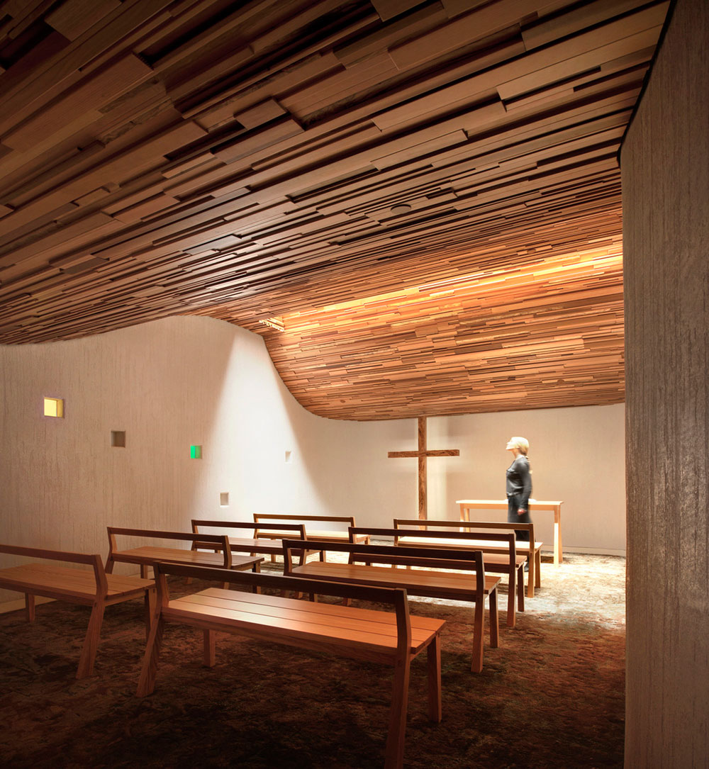 Prayer Chapel by Gensler | Yellowtrace