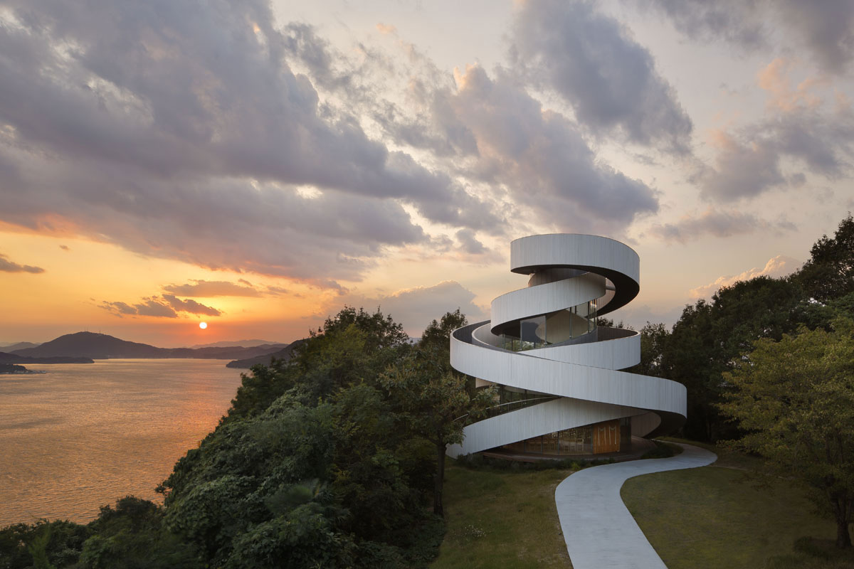 Ribbon Chapel by NAP Architects | Yellowtrace