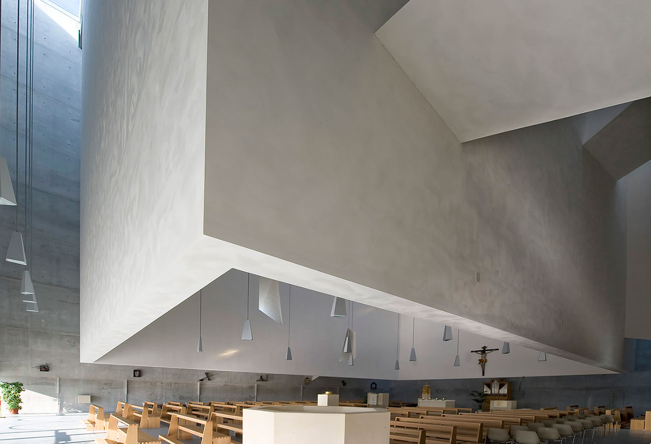 The New Church in Foligno Italy by Massimiliano & Doriana Fuksas | Yellowtrace