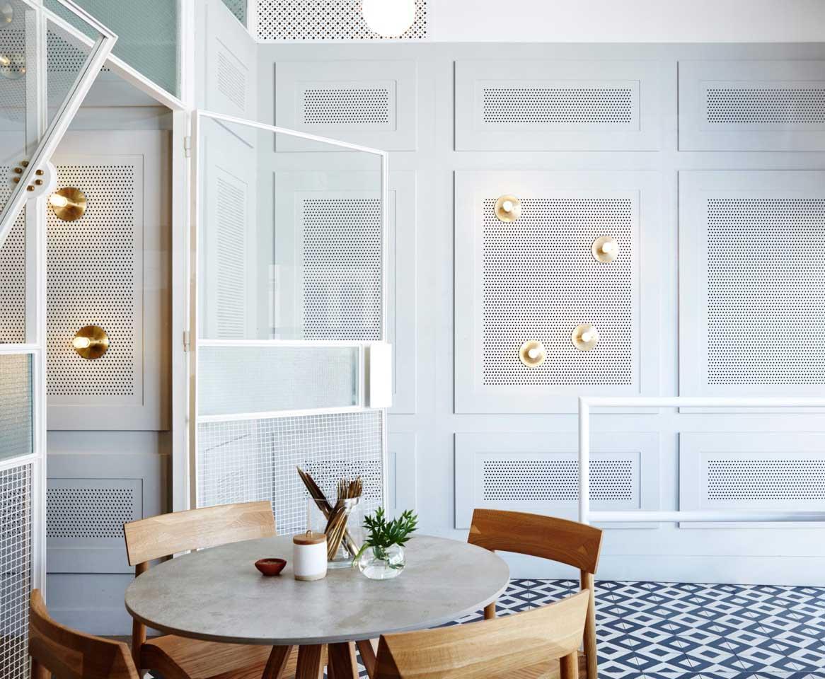The Rabbit Hole Organic Tea Bar by Matt Woods Design | Yellowtrace