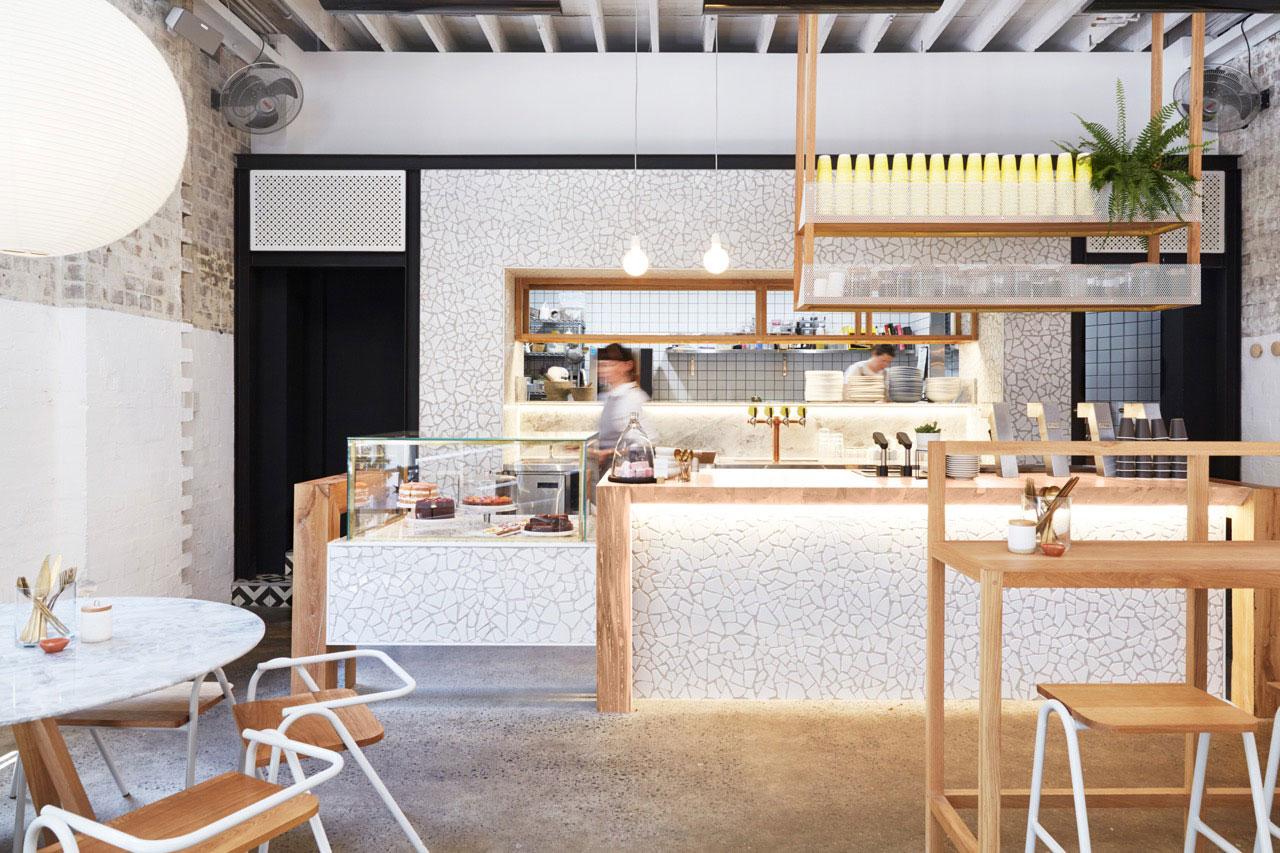 the rabbit hole organic tea bar by matt woods design