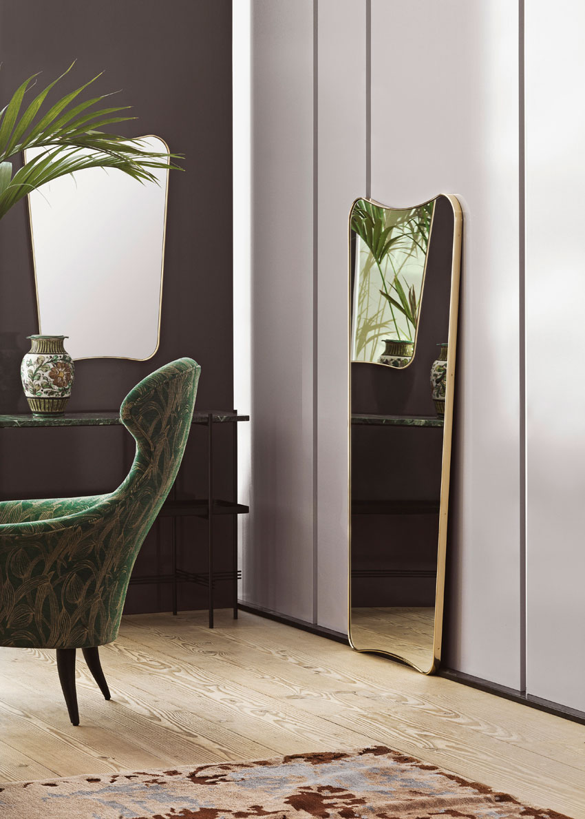 fa 33 Mirror by Gio Ponti Gubi | Yellowtrace