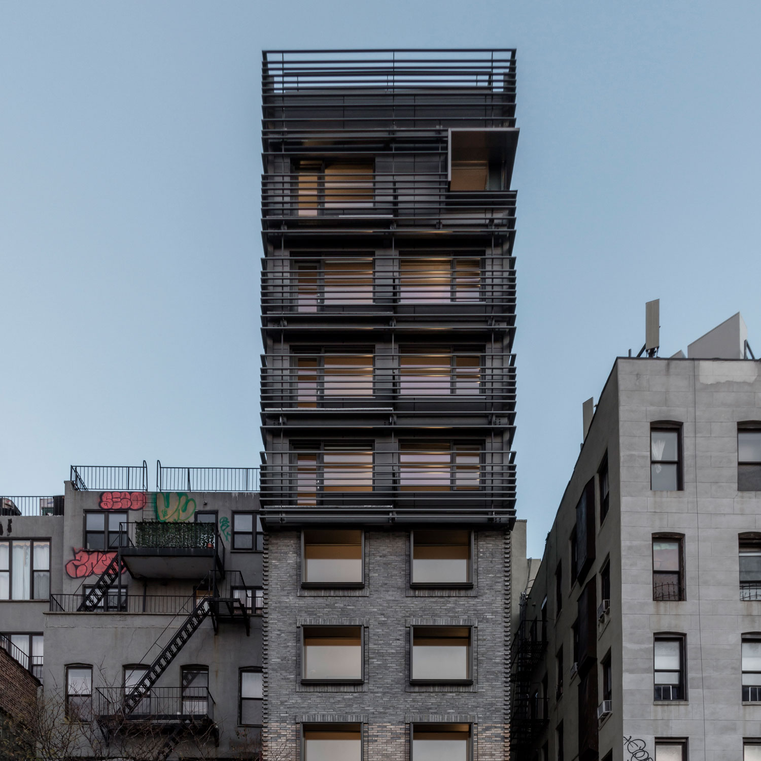 120 Allen Street in Manhattan by Grzywinski+Pons | Yellowtrace