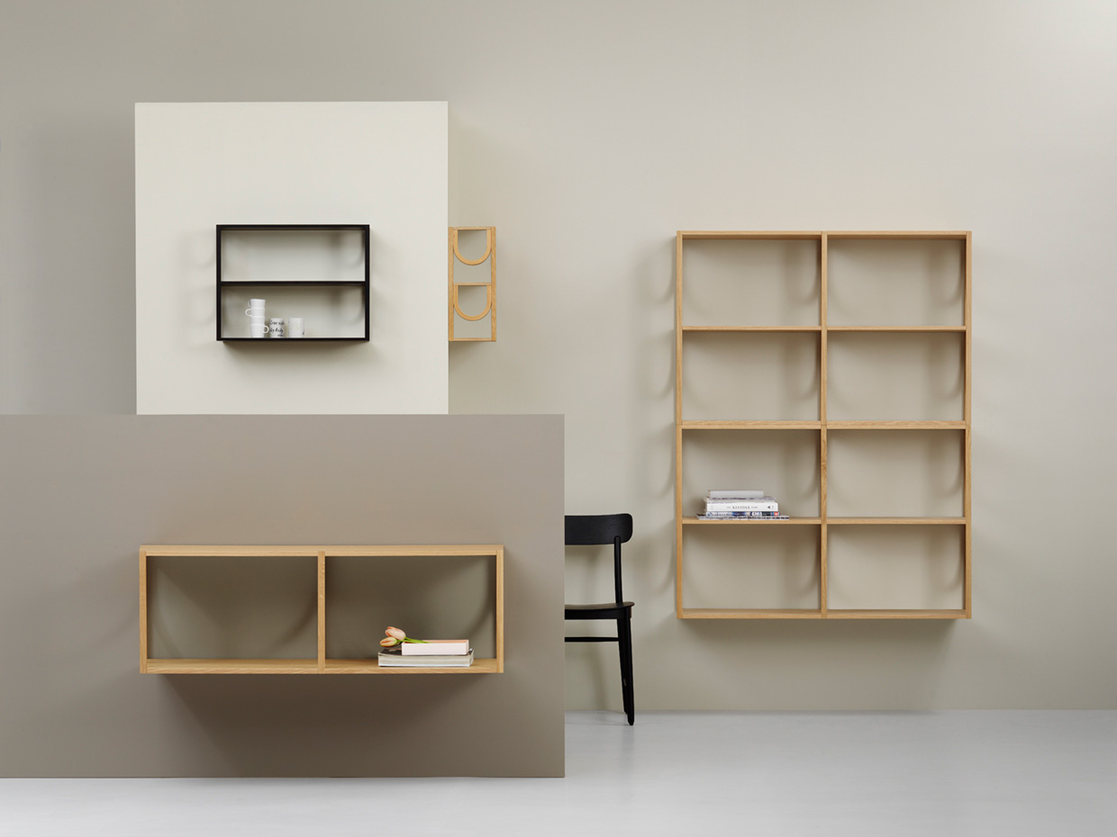Arch bookshelf by Note Design Studio for Fogia | Yellowtrace