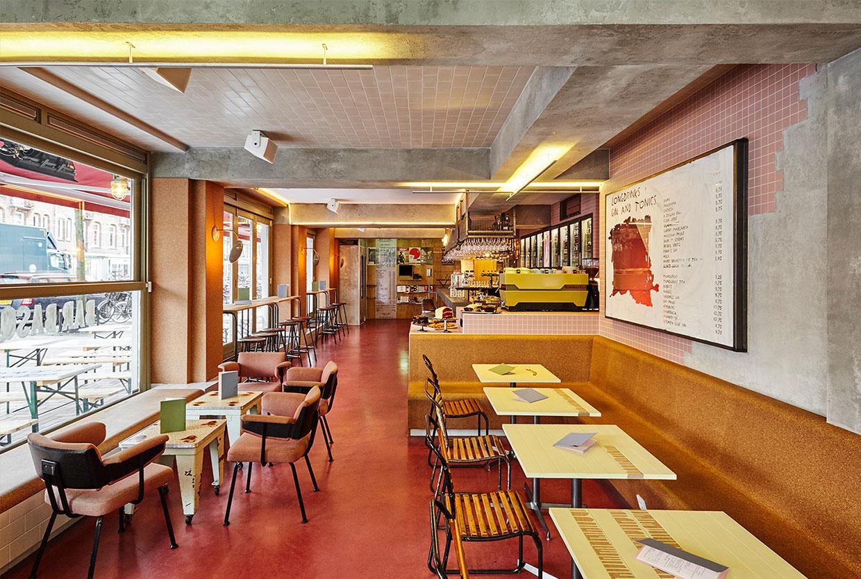 Bar Basquiat in Amsterdam by Studio Modijefsky | Yellowtrace