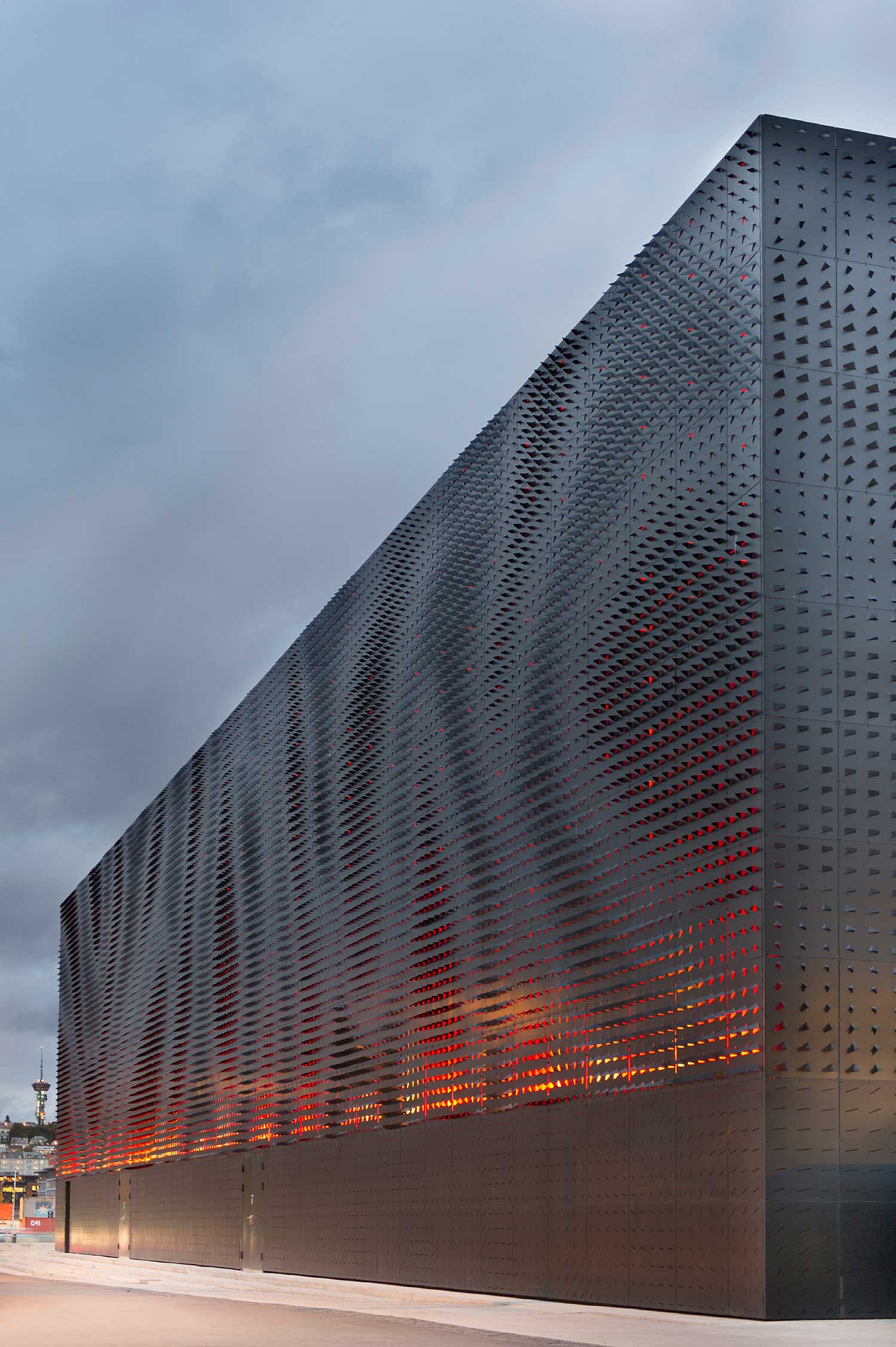 Stories on design perfectly perforated yellowtrace for Archi facade