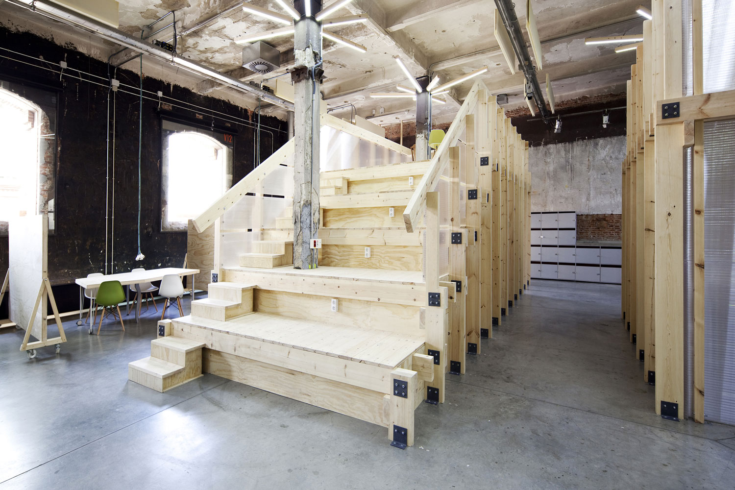 Factoria Cultural in Matadero in Madrid by Office for Strategic Spaces | Yellowtrace