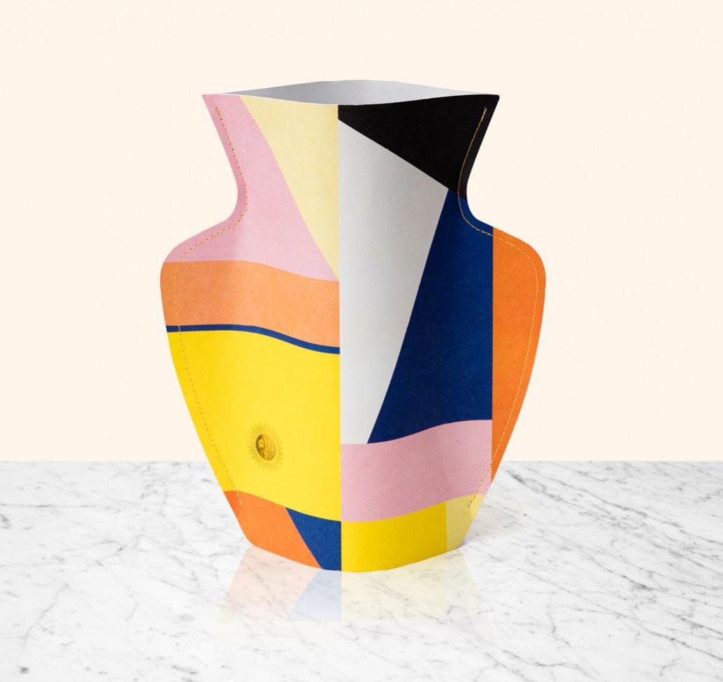 Florero Paper Vases Bazaar by Octaveo | Yellowtrace