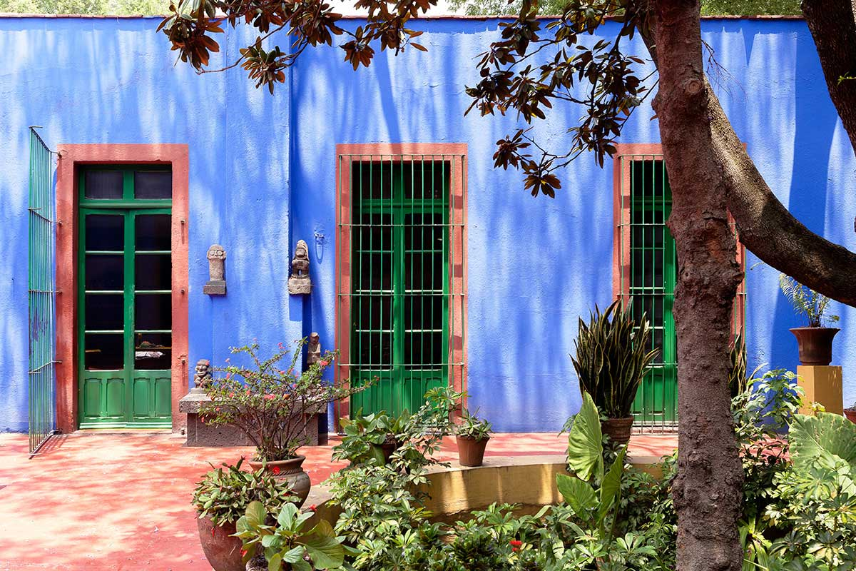 Frida Kahlo's Casa Azul in Coyoacán, Mexico | Yellowtrace