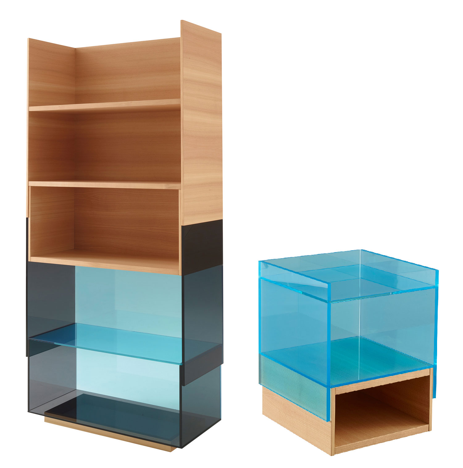 Hampton shelving unit and side table Ligne Roset | Yellowtrace