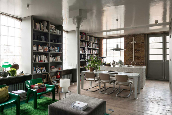 Ilse Crawford's Victorian Warehouse in London   Yellowtrace