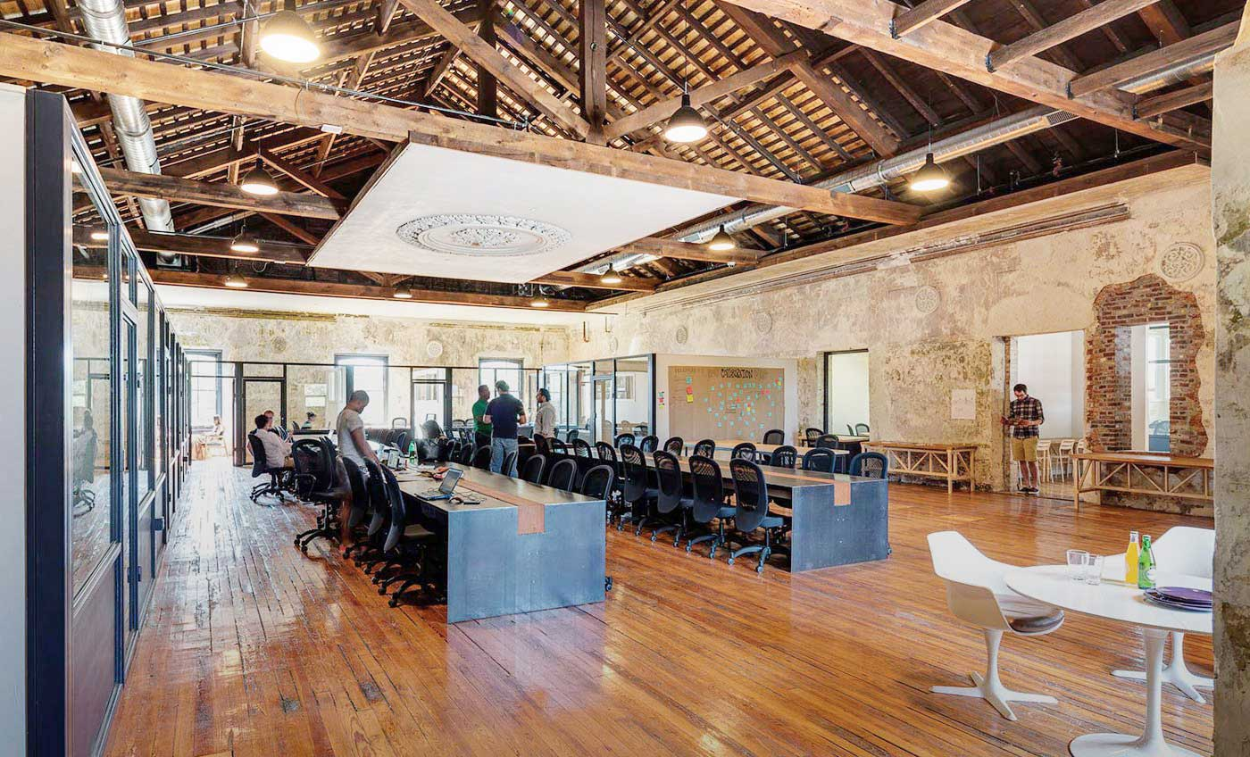 Impact Hub Philadelphia by Paul Maiello & Macro Sea | Yellowtrace
