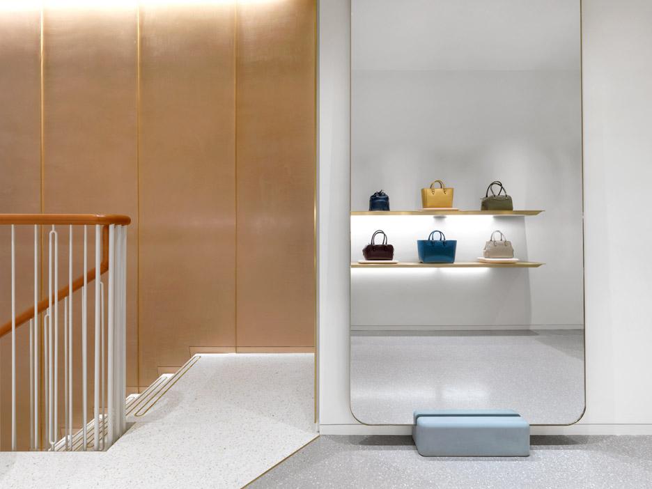 J&M Davidson London Store by Universal Design Studio | Yellowtrace