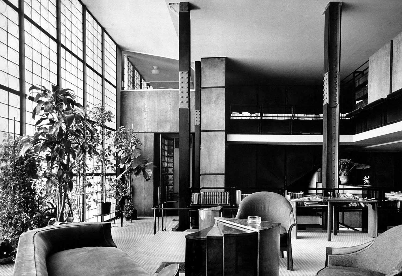 Maison de Verre, Paris by Pierre Chareau + Bernard Bijvoet | Yellowtrace