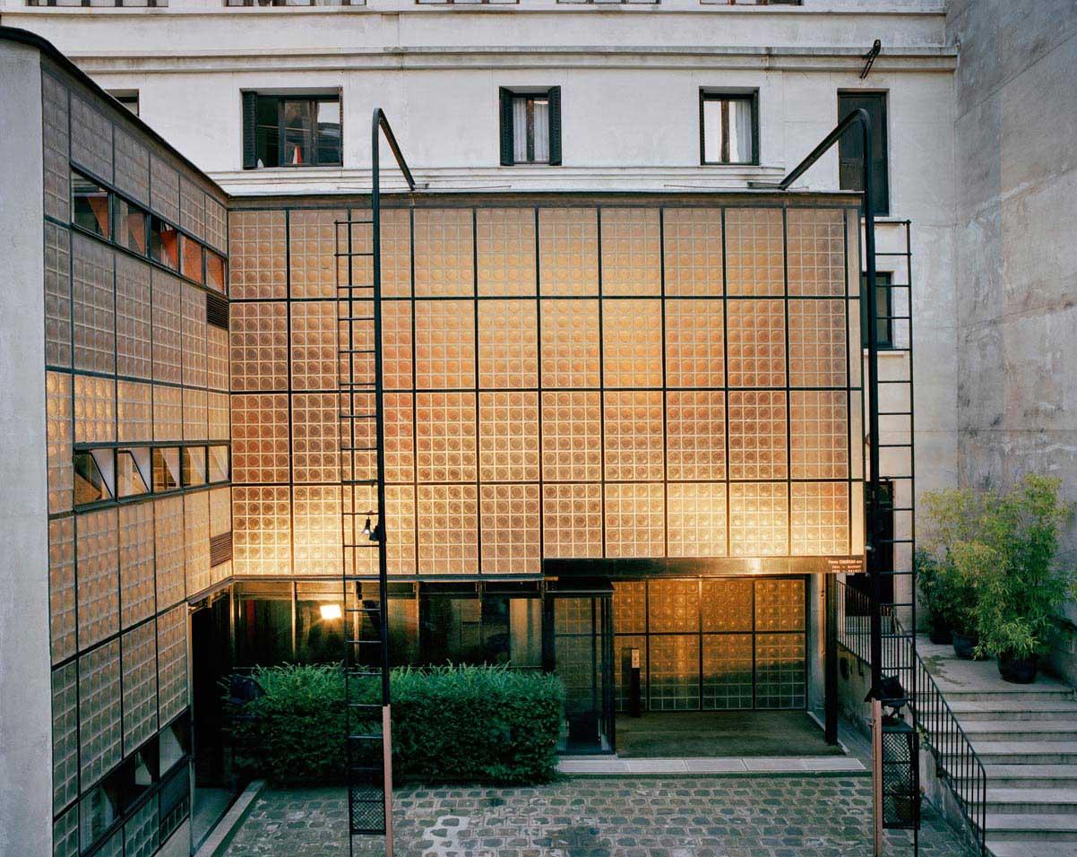 Maison de Verre, Paris by Pierre Chareau + Bernard Bijvoet, Photography by Francois Halard | Yellowtrace