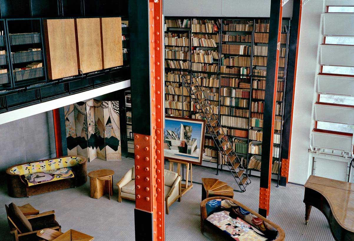 Maison de Verre Paris by Pierre Chareau + Bernard Bijvoet.