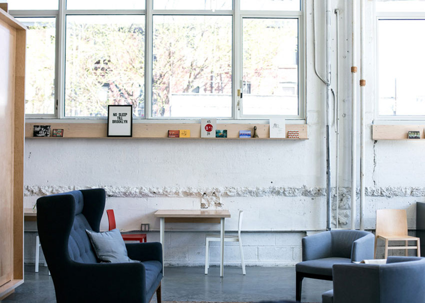 Makeshift Society Brooklyn Workspace by Dash Marshall | Yellowtrace