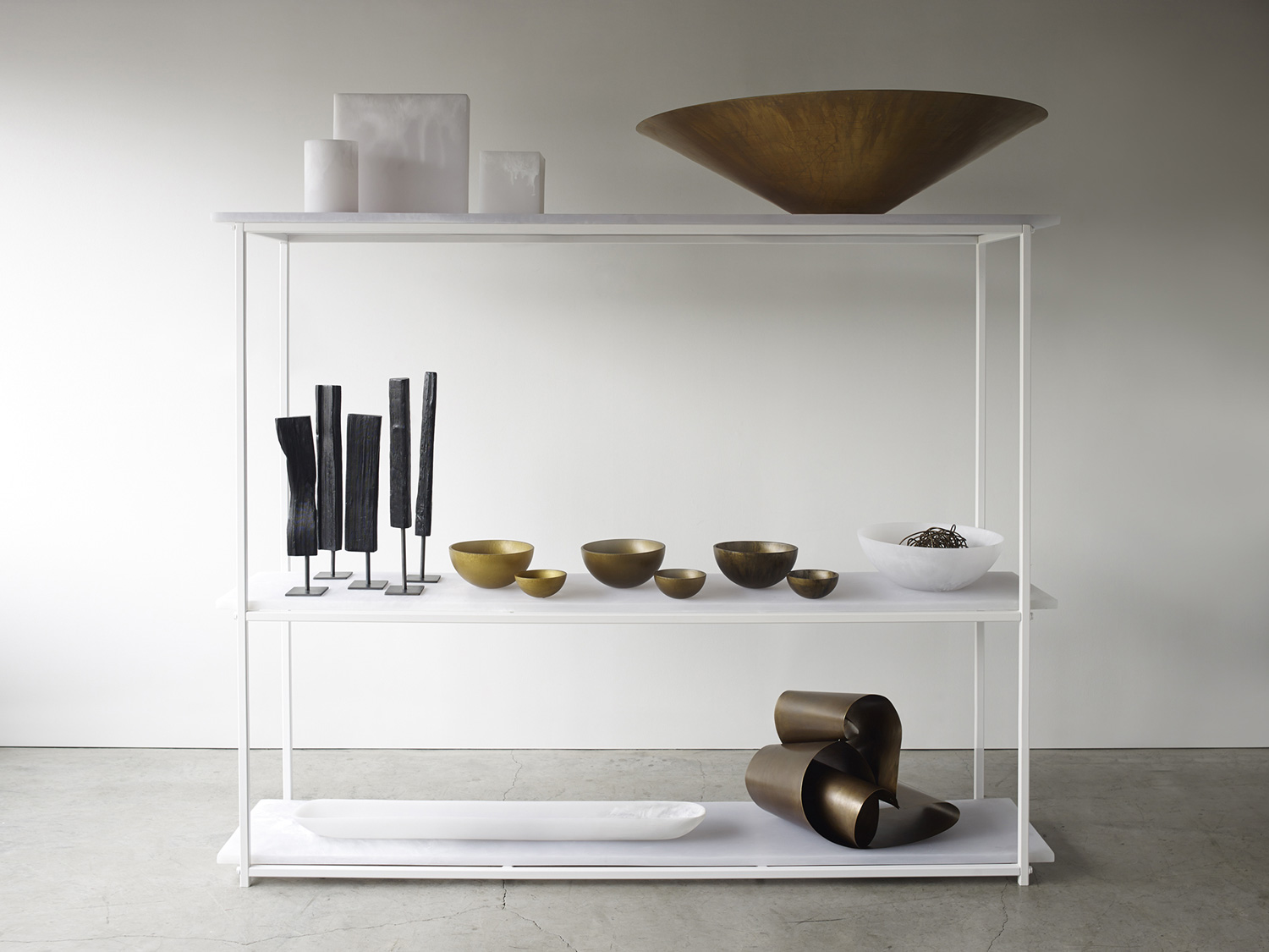 Shelving unit by Martha Sturdy for MandO | Yellowtrace