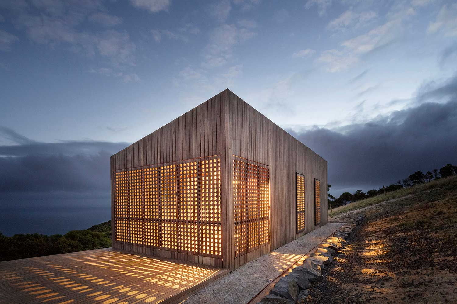 Moonlight Cabin by Jackson Clements Burrows | Yellowtrace