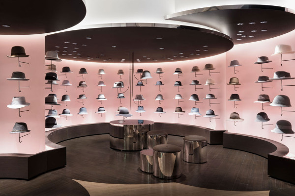Nendo Designs New Women's Fashion & Hat Floor for Seibu Shibuya, Japan | Yellowtrace