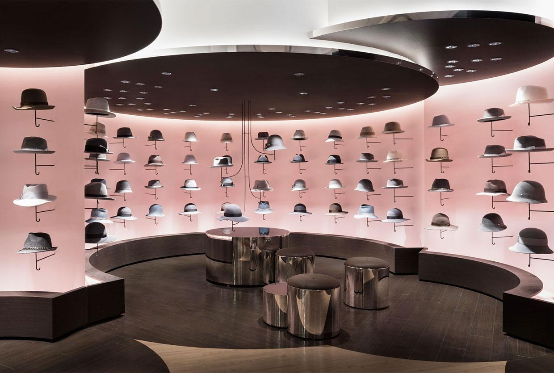Nendo Designs New Women's Fashion & Hat Floor for Seibu Shibuya, Japan | Yellowtrace