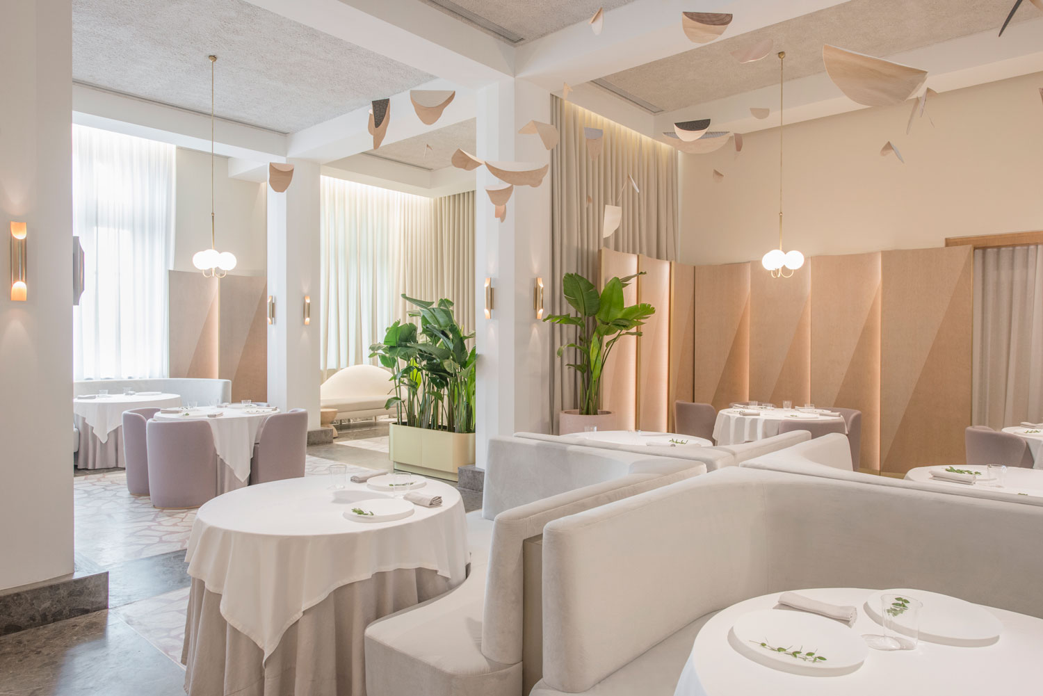 Odette Restaurant Singapore by Universal Design Studio | Yellowtrace