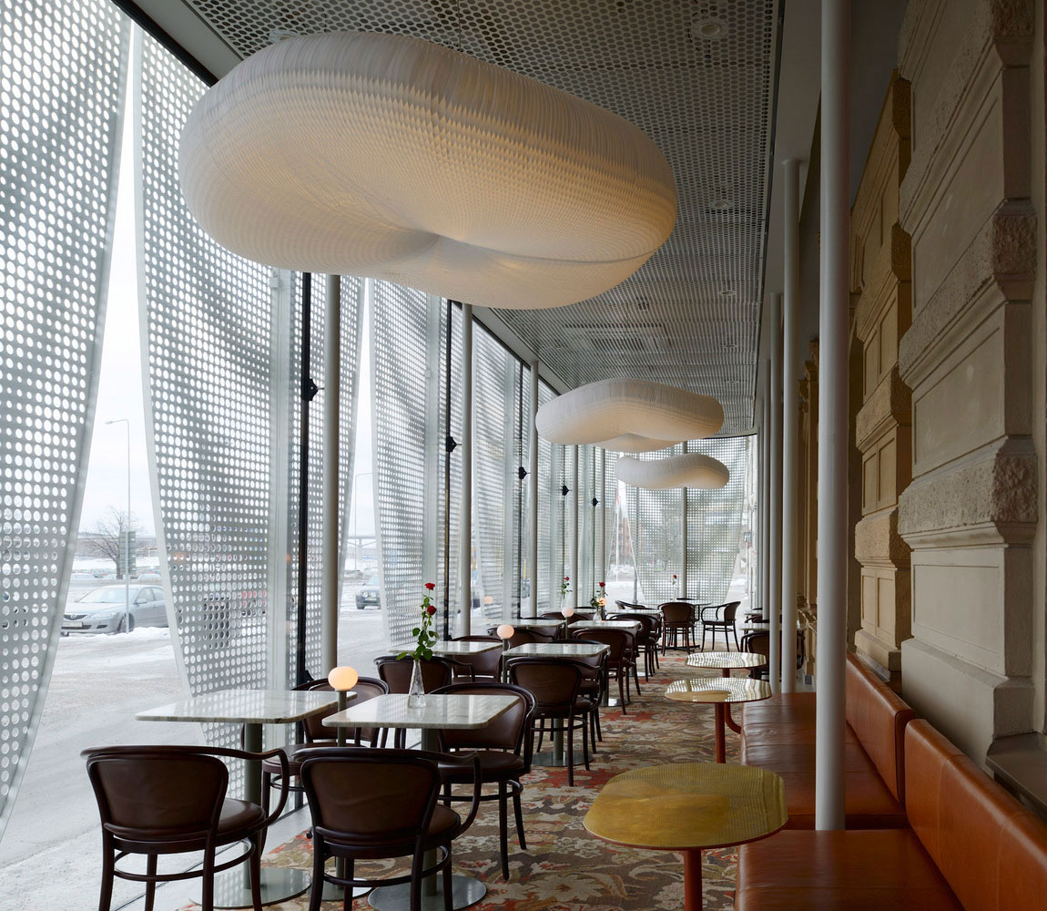 Pavilion for Best Western Hotel Baltic by The Common Office | Yellowtrace