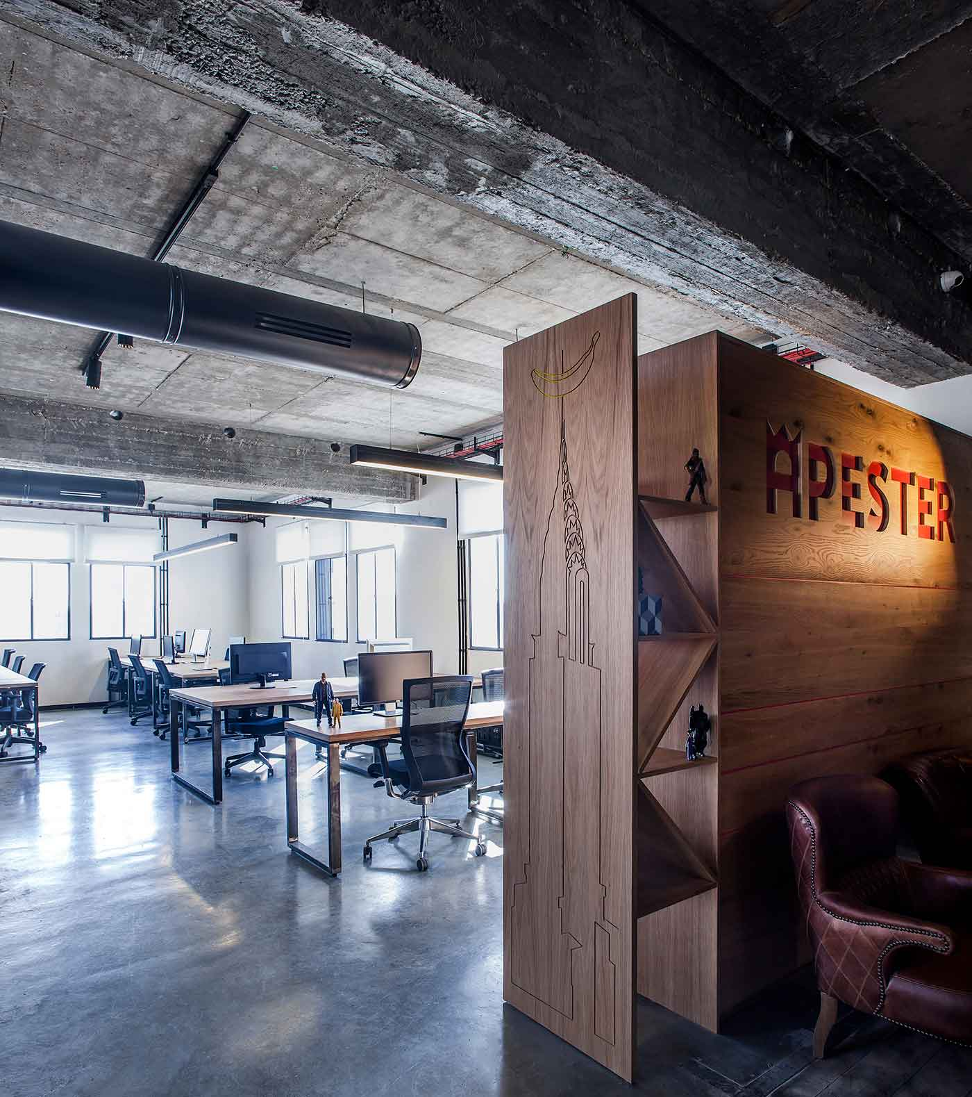 Roy David Studio crafts co-working space in Tel Aviv | Yellowtrace