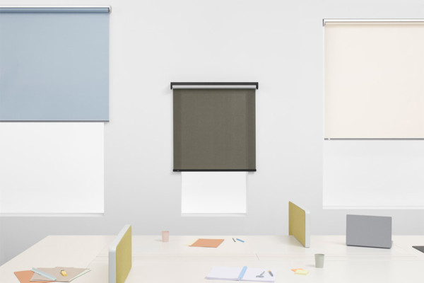 Sexy Roller Blinds (Yes, That's Right) by Ronan & Erwan Bouroullec for Kvadrat | Yellowtrace